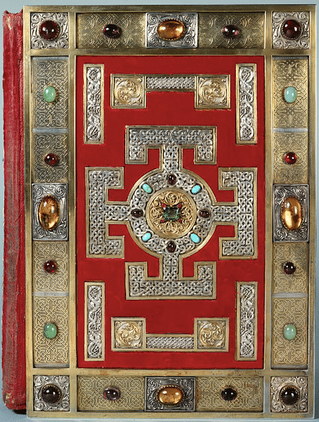 Lindisfarne Gospels Cover (by British Library)