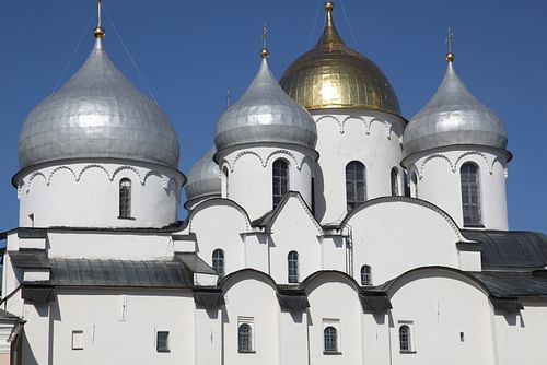 St. Sophia's Cathedral, Novgorod (by Людмила Ф-С)