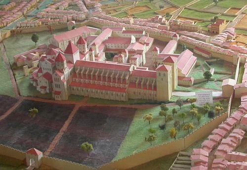 Model of Cluny Abbey
