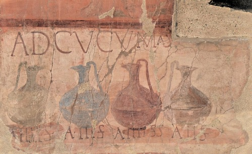 Wine Advertisement, Herculaneum