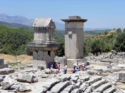Tombs and Theatre at Xanthos