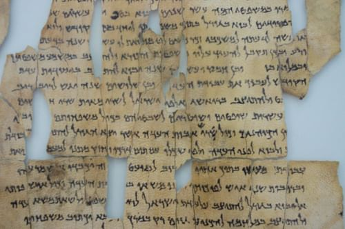 Dead Sea Scrolls (by Ken & Nyetta, CC BY-SA)