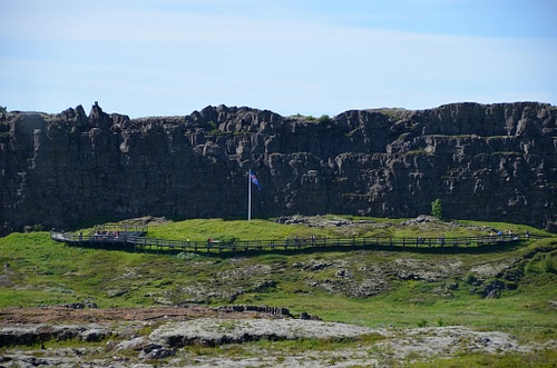 Logberg – Althing Meeting Place at Thingvellir, Iceland