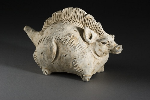 Chinese Pig-Dragon Sculpture