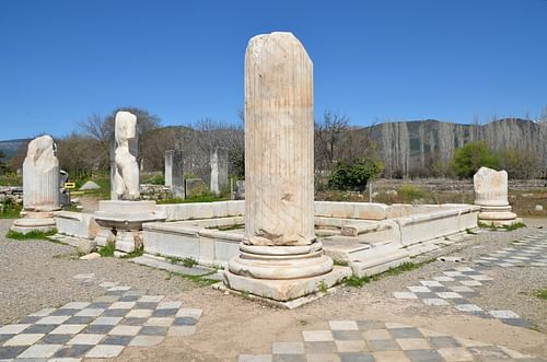 Baths of Hadrian at Aphrodisias