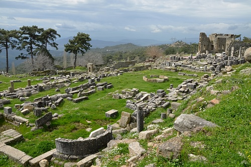 Temple Terrace, Sanctuary of Zeus Labraundos