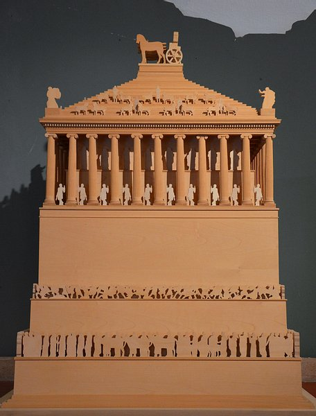 Model of the Mausoleum of Halicarnassus