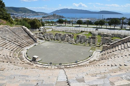 Theatre of ancient Halicarnassus