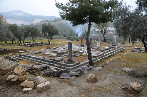 Peripteral Temple at Stratonicea