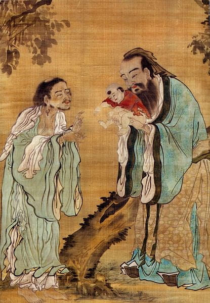 Confucius, Buddha and Lao-Tzu (by Lucas)
