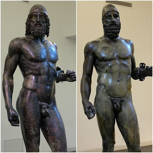 The Bronzes of Riace (by Alexander van Loon, CC BY-SA)