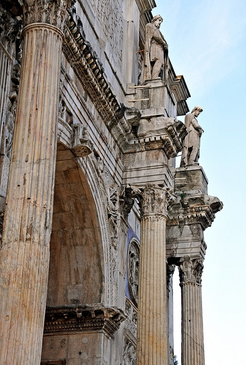 Detail of the Arch of Constantine