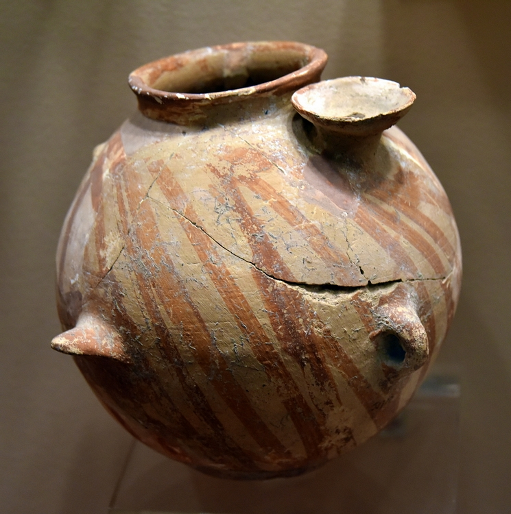 Painted Pottery Jar from Arqub az-Zahr