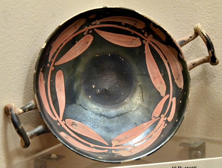 Greek Black-Glazed Pottery