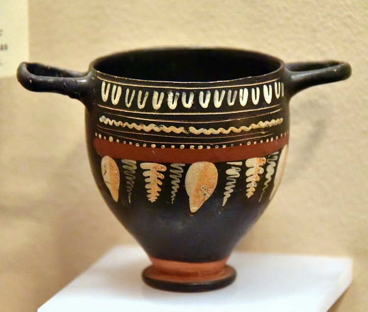 Black-Glazed Pottery From Jordan
