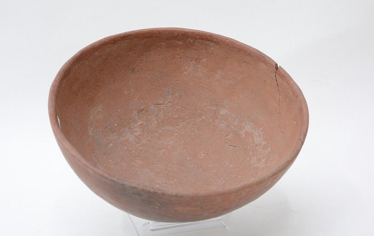 Example of Salado Culture Pottery