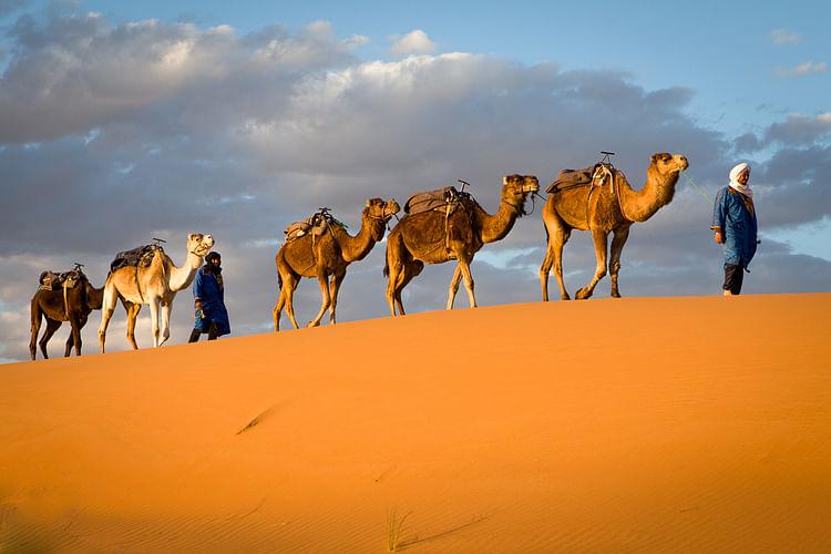 The Camel Caravans of the Ancient Sahara - Ancient History Encyclopedia