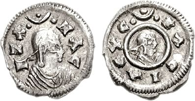 Coin of King Ezana I