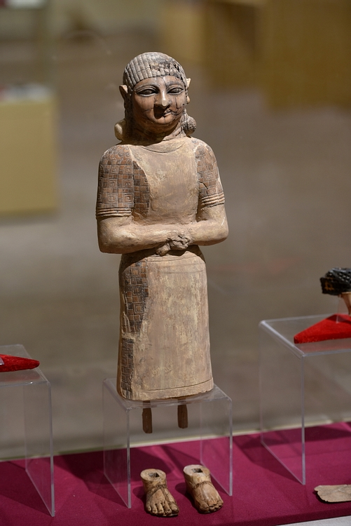 Ivory Statue from Nimrud at the Iraq Museum