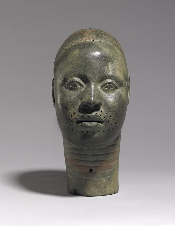 Ife Head Sculpture