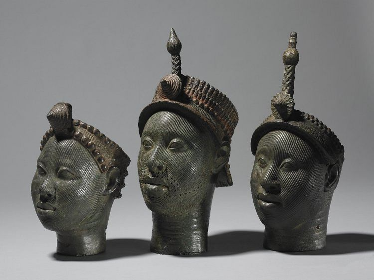 Brass Heads from Ife
