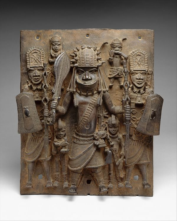 Benin Warriors Plaque