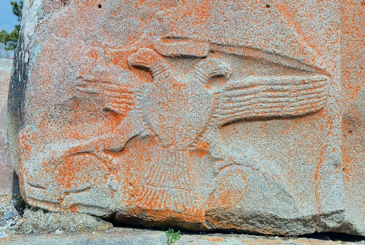 Eagle Relief at Alacahöyük