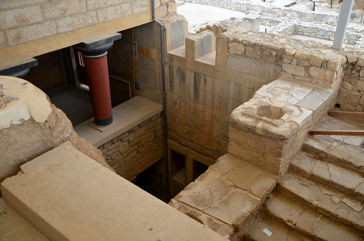 Grand Staircase of Knossos