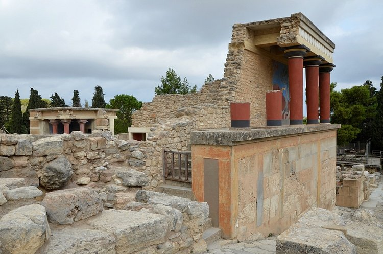 North Corridor of the Palace of Knossos