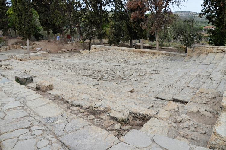 Theatral Area & Royal Road of the Palace of Knossos