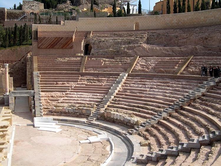 Theatre, Carthago Nova (Rafael)