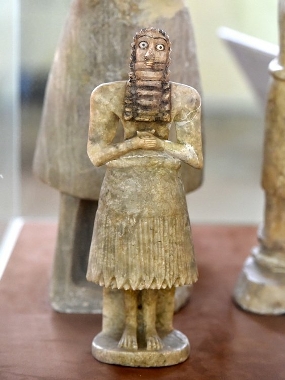 Male Worshiper from Tell Asmar Hoard, Iraq Museum