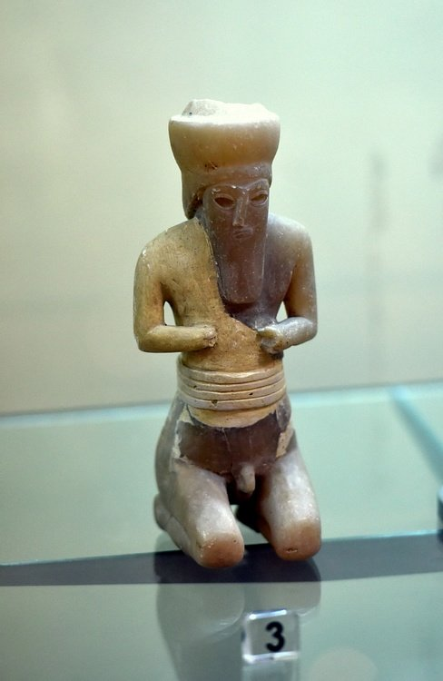 Male Worshiper from Tell Asmar Hoard at the Iraq Museum
