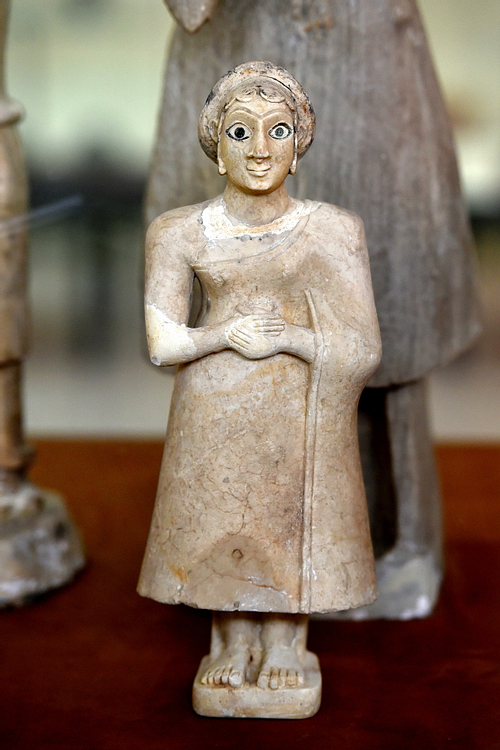 Female Worshiper from Khafajah at the Iraq Museum