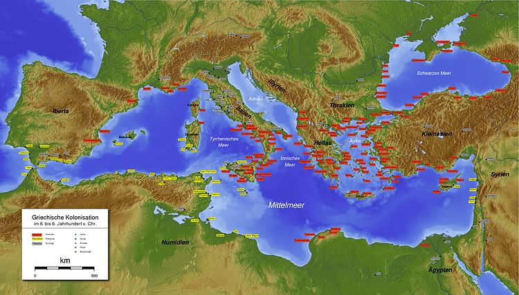 Greek & Phoenician Colonies