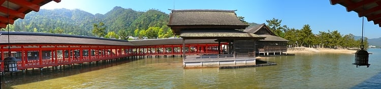 Panorama, Itsukushima Shrine