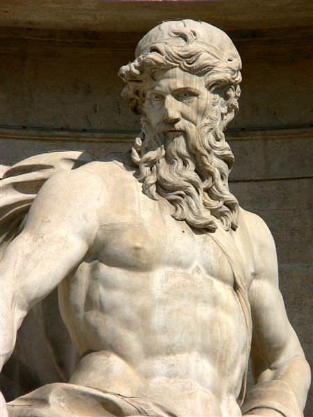The Titan Oceanus Illustration Ancient History