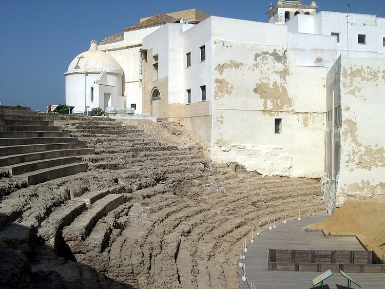 Teatro romano, Gades (Rafael)
