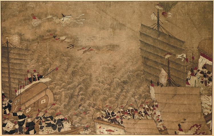 Wako & Chinese Naval Battle