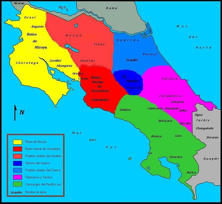 Costa Rica, 16th century CE
