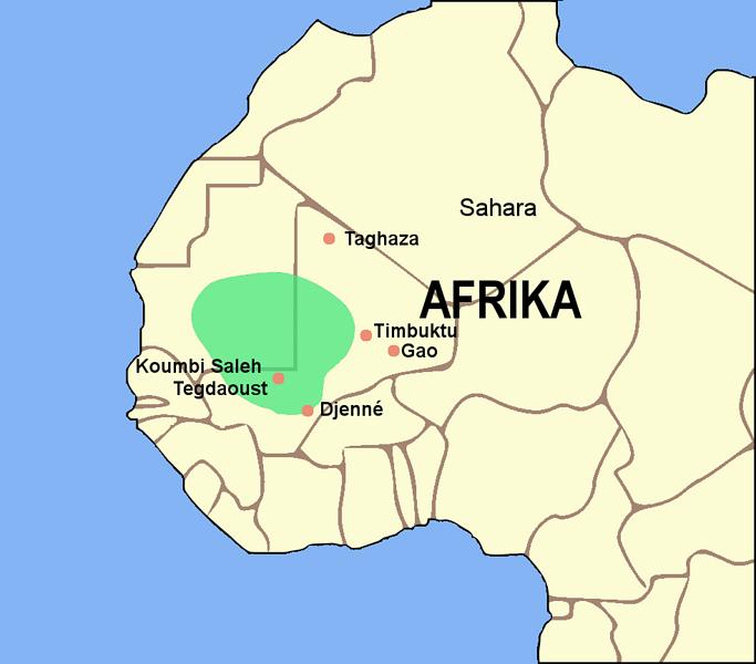 El Imperio de Ghana (Luxo)