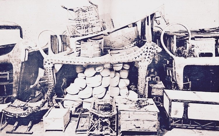 The Celestial Cow Funerary Bed of Tutankhamun