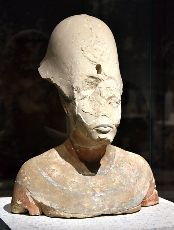 Bust of Akhenaten from Amarna