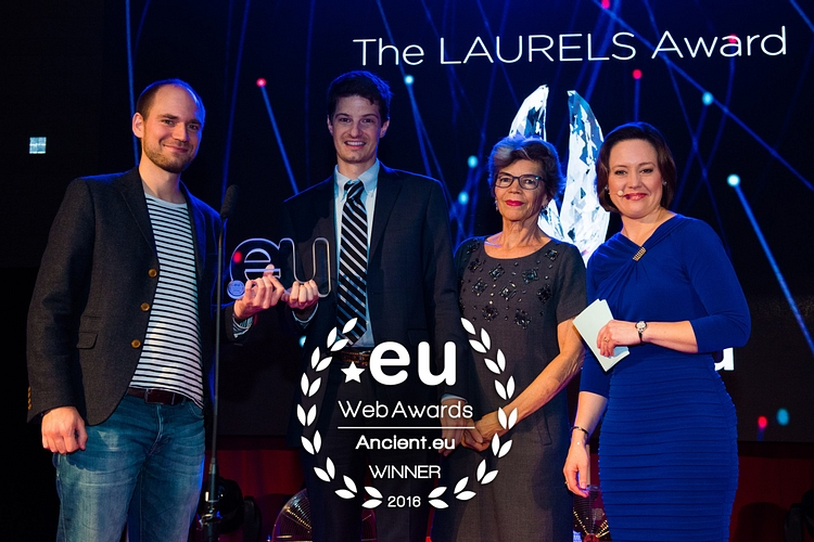 AHE Receives eu Web Award