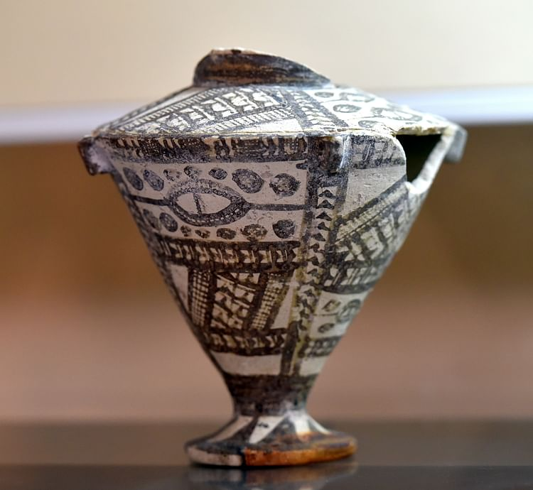 Pottery Vessel from Ninevite V Culture