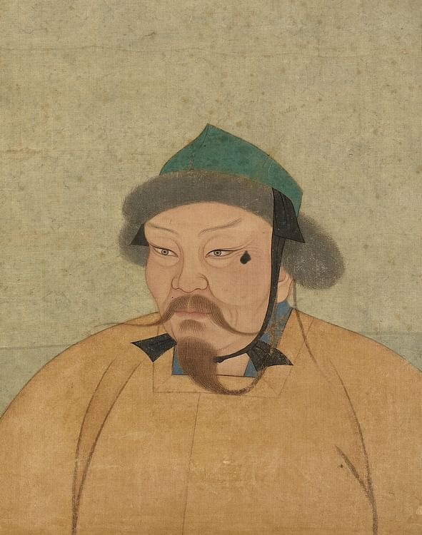 Portrait of Ogedei Khan