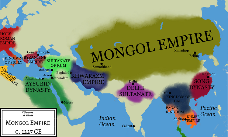 Genghis Khan's Empire