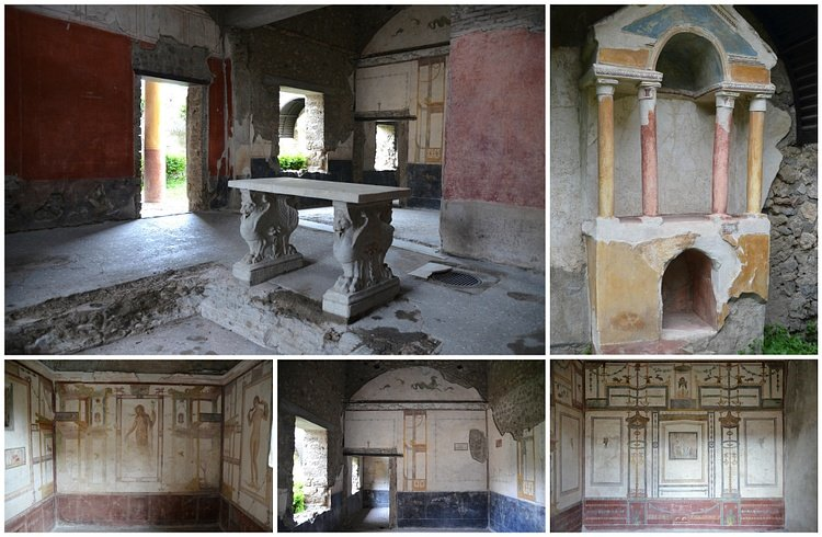The House of the Prince of Naples in Pompeii