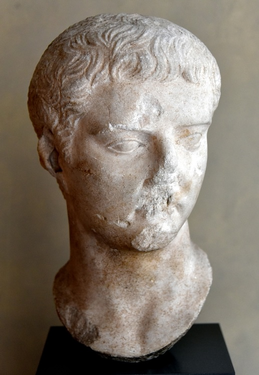 Emperor Tiberius in his Youth