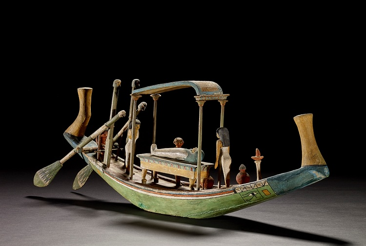 Egyptian Funerary Boat
